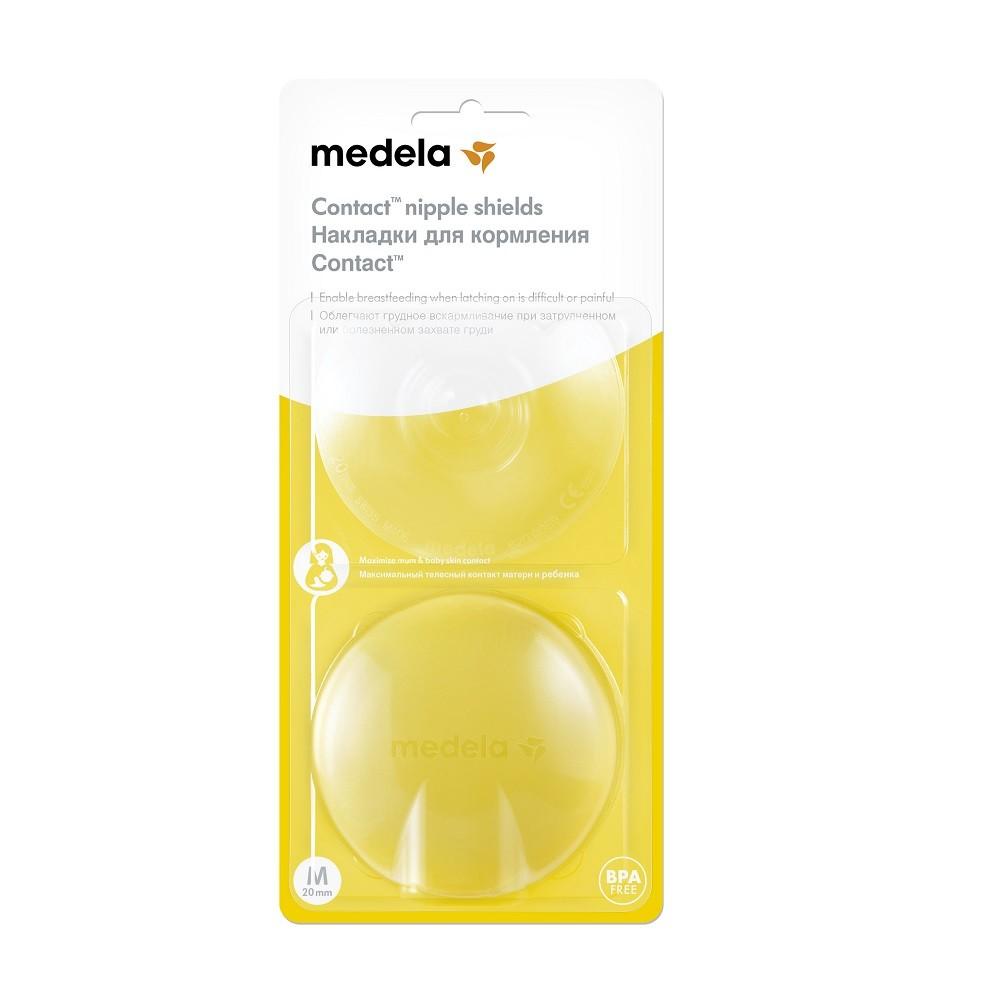 Medela Kontaktné dojčiace klobúčiky - M (20 mm)